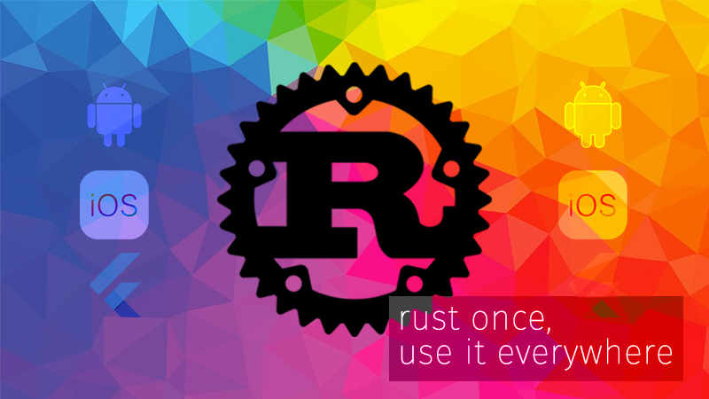 Rust once and share it with Android, iOS and Flutter